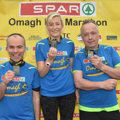 SPAR sponsor Omagh Half Marathon