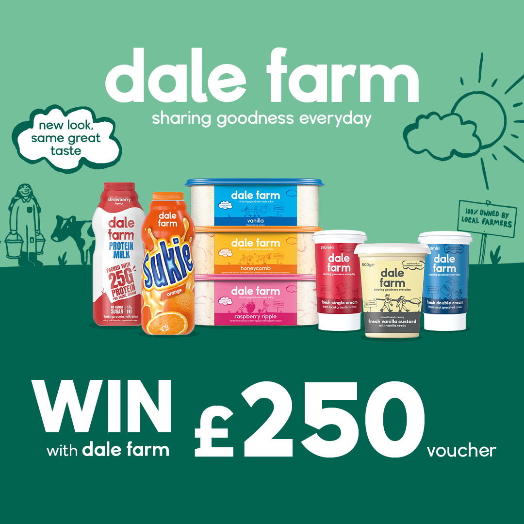 WIN a £250 One4All Voucher with Dale Farm